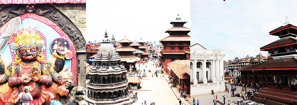 Temples with Durbar Square